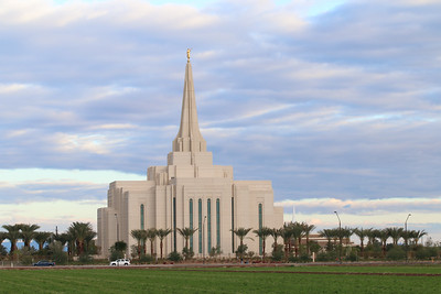 Church of Jesus Christ of Latter-Day Saints Gilbert Arizona Temple - November 24, 2013