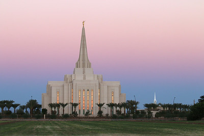 Church of Jesus Christ of Latter-Day Saints Gilbert Arizona Temple - September 28, 2013 - Opened March 2, 2014