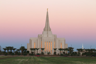 Church of Jesus Christ of Latter-Day Saints Gilbert Arizona Temple - September 28, 2013