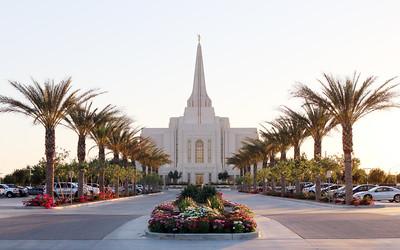 Church of Jesus Christ of Latter-Day Saints Gilbert Arizona Temple - June 16, 2015