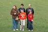 2009 Soccer Senior Night<br /> Tyler and Family