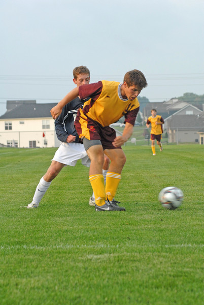 September 8, 2009<br /> McCutcheon Mavericks vs Harrison Raiders<br /> Men's High School Soccer Game