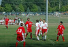 August 20, 2008<br /> Junior Varsity High School Soccer<br /> West Lafayette Red Devils vs Pike