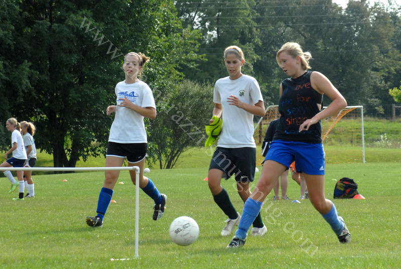 August 2009<br /> HHS Ladies Tryouts<br /> 079 - L09HSSSA