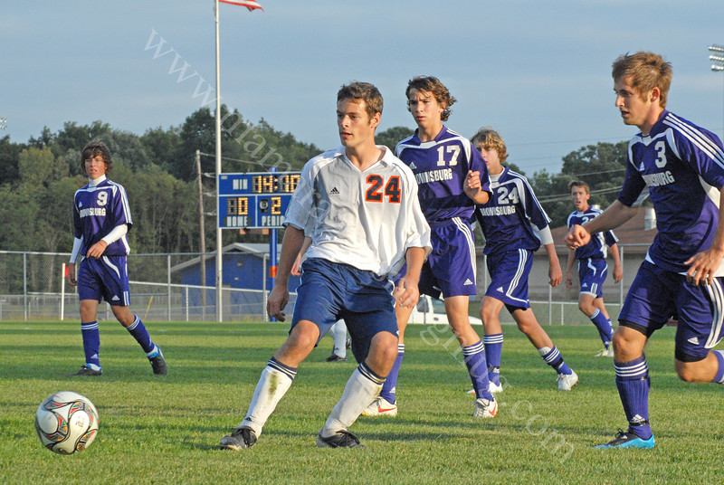 September 29, 2009<br /> Brownsburg vs Harrison<br /> High School Soccer Game