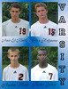 Yearbook Page<br /> 2010 High School Soccer<br /> Soccer Players<br /> Amir - Alex - Austin - Nester