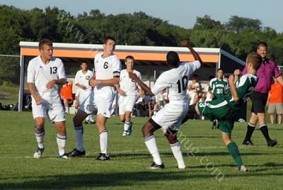 Westfield vs Harrison Boys Soccer Game 8/16/11