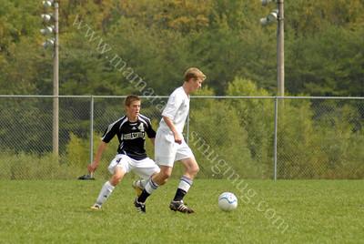 Noblesville vs Harrison Boys Soccer Game 9/24/11