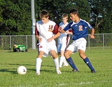 McCutcheon vs Harrison  - September 9, 2008 - High School Mens Soccer Game