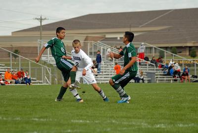 Harrison High School Invitational Boys Soccer Games 9/17/11