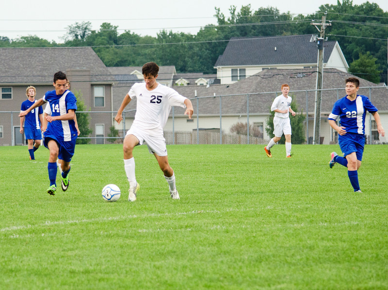 August 22, 2013<br /> Harrison vs Carroll<br /> High School Soccer Game<br /> Image ID # 9035