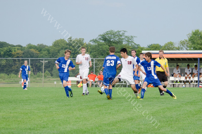 Harrison vs Carroll High School Soccer Photo #0515