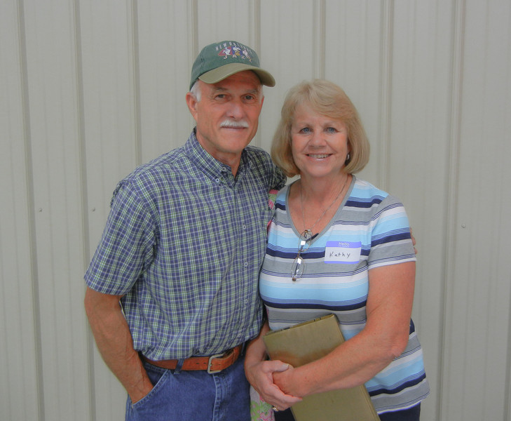 Tim Reecer and his wife Kathy