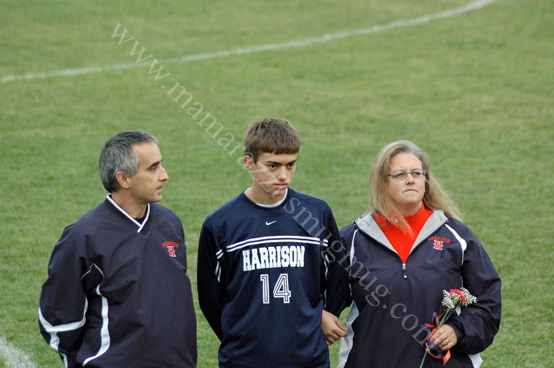 Senior Night<br /> Harrison High School<br /> Soccer Field<br /> 2009
