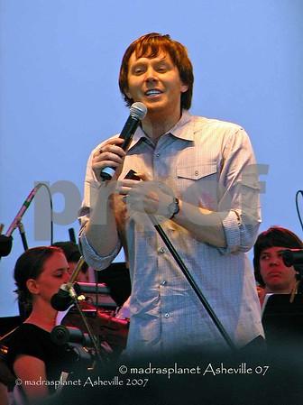 Clay Aiken Soft Rock .Tour Asheville 2007 August 11