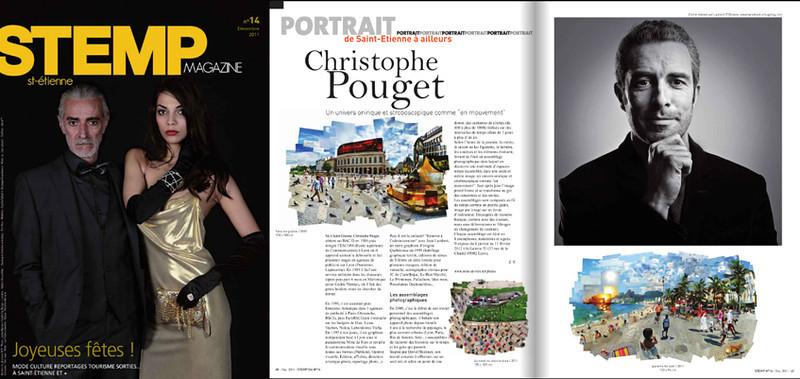 Portrait de Christophe Pouget,