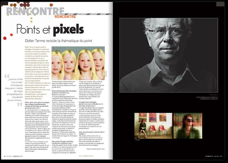 Portrait de Didier Terme Réalisé pour le numéro 17 du magasine STEMP.
