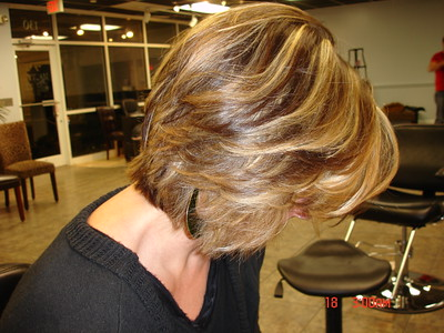 client gets all over lowlights and highlights. Hair cut/style http://www.keune.com/