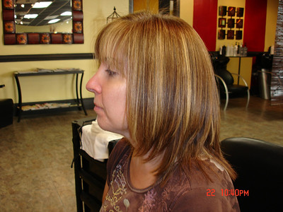 Keratin smoothing treatment. After on the day of treatment. http://www.keune.com/