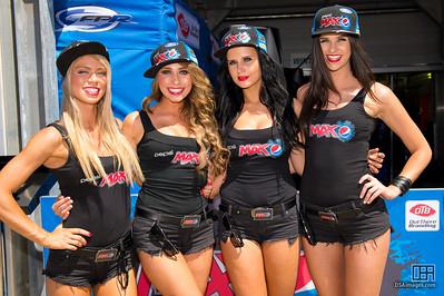 Pepsi Max girls