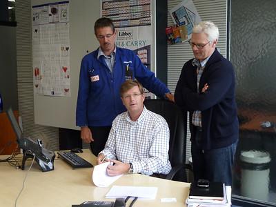 2010 Antoine at RL office