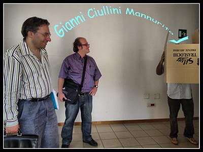 Valerio, Marco ed un collega che ci tiene a rimanere misterioso...