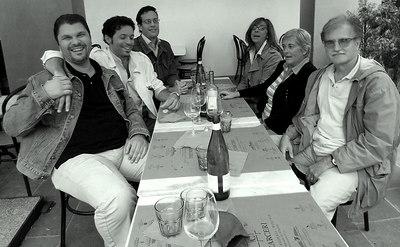 da sinistra a destra: Paolo Marconi, Alessio Mazzeo, Lapo Sestini,Isabella Casalini, Neda Balzoni, Piero Frosali - Ufficio Edilizia Residenziale Pubblica