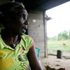 María Ligia Chavera, a 72-year old Afro-Colombian woman who has struggled the last 15 years to recover her land in the Chocó, was displaced in 1997.<br /> © 2011 Charlotte Kesl Photography/Peace Brigades International