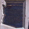 Camp Crittenden monument.