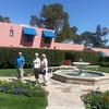 Jerry, Barbara and Sue at Arizona Inn, Tucson, Arizona.