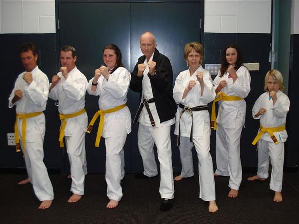 Combat Karate 8th Kyu Grading September 2010