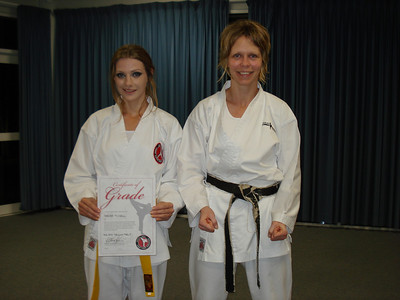 Combat Karate Grading 8th Kyu Sep 2010