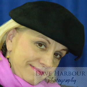 Margy Johnson, CWN Meeting, National Hat Day, 1-15-14, Photo by Dave Harbour
