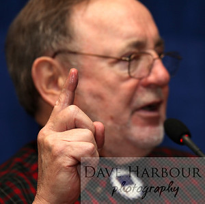 Don Young wetting a finger to see which way the wind is blowing...so to speak.  Also see: http://tinyurl.com/6wfwg2q