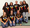 Child care Staff from the Boyertown Area YMCA Daniel B. Boyer Center, 301 W. Spring St., are shown wearing festive turkey shirts made by fellow staff person, Samantha Karcewski, to serve the center's annual Turkey Fest dinner.  Turkey Fest is a traditional Thanksgiving dinner cooked by the staff and served to parents, guardians and children in Growing Dreams and School's Out state licensed child care program.  All food was donated by staff or parents.<br /> <br /> Submitted by the Boyertown Area YMCA