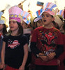 Veterans were honored at Schwenksville Elementary School.  First grade students had the opportunity to visit Greenfield Senior Living Center to not only honor our Veterans, but also to learn about community service.  The students brought joy to the residents by singing patriotic songs.  Pictured are Kaitlynn McClennen and Owen Pickersgill singing <br /> <br /> Submitted by Schwenksville Elementary School