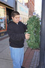 Pottstown High School JROTC started the holiday season off on Nov. 23 by placing wreaths along high street and cleaning the streets of debris. The placing of wreaths on the colonial style light poles is a yearly ritual in Pottstown and signals to the residents and patrons that Christmas is a time of togetherness and support. Forty cadets under the leadership of Col. Jake Porter and Sgt. Alexander Bolar Jr. participated.<br /> <br /> Submitted by Pottstown High School