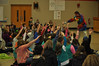 "The Boyertown Service Unit of Girl Scouts of Eastern PA hosted a fun science event for 175 people who gathered at Boyertown Elementary School to learn how to change matter from one state to another by telling the tale of Doolittle which is a building that contains a hidden underground laboratory.  With screaming quarters, jets of gas to taste, popping potions, incredible showers of smoke-filled bubbles, and buckets of fog, the crowd discovered how all of this is created by the two ""coolest"" things in the world…dry ice and imagination.<br /> Sciencetellers combines storytelling, comedy, and exciting science experiments into a dynamic and highly interactive learning experience.<br /> <br /> Submitted photo"