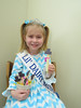 Berks County Lil Dairy Miss,  Danica Rhoads from Barto, has been enjoying promoting the dairy industry.   Since it has been so cold, she decided to improvise and play inside, using cheese instead of snow – making a Frosty the Cheese Man!   She shared this quick, easy, fun and nutritious snack with her friends at school and it was a hit!  String cheese is a convenient, sugar free snack that is high in calcium which is perfect to help little bones grow big and strong.  Danica, as a growing 5 year old, knows how important it is to consume dairy products and she would like to remind everyone to have their three servings of dairy every day!<br /> Submitted by Sandy Rhoads