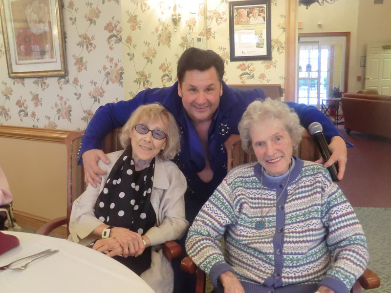 Atria Woodbridge Place, an assisted living community in Kimberton, celebrated Resident Appreciation Month in January.  <br /> The month kicked off with a tribute to Elvis with entertainment by Dean Garofolo, an Elvis impersonator.  <br /> Submitted by Atria Woodbridge Place