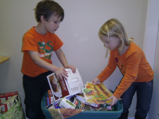Students at Brookeside Montessori School near Boyertown recently held a canned goods collection to benefit Boyertown Area Multi-Service.   For over 10 years the students at Brookeside Montessori have collected food for those in need in the Boyertown area as part of the school's ongoing commitment to serve the community.<br /> <br /> Submitted by Brookeside Montessori School