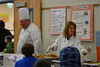 Chartwells and Own J. Roberts School District introduce Chefs 2 Schools Program whereby the visiting chef helps to create a focus on healthy meals and educates students about sound eating habits and food preparation and introduces a new menu item.<br /> Chartwells Chef Doug Kulp along with Food Service Coordinator Lori Deni passed out samples of Sautéed Apples to an eager crowd at East Coventry Elementary School.<br /> <br /> Submitted by Owen J. Roberts School District