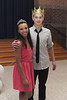 Spring-Ford Area High School freshmen and sophomores jived to the music at the annual Winter Ball held at the 7th Grade Center. <br /> The Winter Ball King and Queen Ashleigh Carter and Justin Schwenk (pictured) were selected with the most votes by their peers.<br /> <br /> Submitted photo