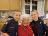 Local Chester County Boy Scout Troop makes Valentine Day cards with residents of Atria Woodbridge Place, Kimberton.<br /> <br /> Submitted by Atria Woodbridge Place