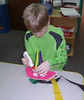"""The Elementary students at Brookeside Montessori, Bechtelsville, celebrated the Chinese New Year. Lesson discussions were about Chinese immigrants and how many major cities in the United States have neighborhoods that are called """"China Town."""" The class enjoyed stories and creating a dragon puppet. As part of their studies a field trip to Panda Garden in Boyertown was planned to sample local Chinese cuisine.<br /> <br /> Submitted by Brookeside Montessori"""