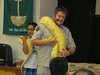 Over 400 people attended the Fall Family Fun Fair held at First United Methodist Church, 414 E. High St., Pottstown.  The event was free and included juggler, Jim Stilianos from the Reading Jugglers' Club, Pipper the clown and balloon animal artist, Jesse Rothacker of the Forgotten Friends Reptile Sanctuary in Ephrata, Noah's Ark Bounce House, face painting, crafts, and duck pond.<br /> <br /> Submitted by First United Methodist Church