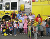 The Boyertown Area YMCA Growing Dreams and School's Out State Licensed Child Care program at the Daniel B. Boyer Center, 301 W. Spring St.,  recently held Fire Prevention week for children in the program ages 1 to 6 years old.  Keystone Fire Company, Engine 16, brought a fire truck and 2 firemen dressed in full gear,  to discuss with the children what to do if there is a fire in their home and how firemen can help them.  Children explored the fire truck, learning about all the important apparatus, and then enjoyed spraying the fire hose.<br /> <br /> Submitted by the Boyertown Area YMCA