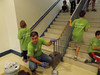 """Vanguard Investment Corp. employees along with family members and representatives of the Pottstown School District participated in the annual """"Day of Caring"""" on a Saturday morning sponsored by United Way of Southeast Pennsylvania. This year's projects included the painting of several of the middle school stairwells and repainting of the stadium press box.  <br /> Working side-by-side with Vanguard volunteers were Middle School Principal Gail Cooper and Supervisor of Buildings and Grounds Bob Kripplebauer, John Armato, Director of Community Relations,  Matt Blute from the Athletic Department and  Nick Yonas from the Buildings and Grounds crew who prepared all of the supplies needed.<br /> <br /> Submitted by Pottstown School District"""