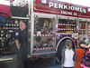 "The Perkiomen Township Fire Company visited Evergreen Elementary School in Collegeville during Fire Prevention Week to talk to students about fire safety. They reviewed the concept of ""stop, drop, and roll,"" told students what to do in case of an emergency and showed students the protective gear they wear when fighting fires. Students then saw the equipment housed in each fire truck.<br /> <br /> Submitted by Perk Valley School District"
