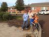 "Schwenksville Elementary Staff and Cup Scout Pack 105 recently spent an afternoon beautifying the flower beds and grounds of the school as part of a ""Fall Clean Up"" organized by Technology Integration Teacher, Walt Silver.  Approximately 25 staff members and 30 cub scouts, parents and other family members participated. Support was also provided by two local businesses, Behmerwald Nursery and Forcine Landscaping, Inc.  <br /> <br /> Pictured are  Beth Hallowell, Victoria Miller and Connor and Ana Miller .<br /> <br /> Submitted by Perk Valley School District"